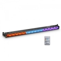LED BAR šviestuvas Cameo BAR 10 RGB IR - 252 x 10 mm LED RGB Colour Bar black with IR Remote Control
